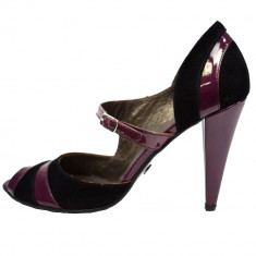 Pantofi dama, din piele naturala, marca Poison Concept, B953318-19, mov , marime: 40