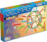 Set De Construit Geomag Confetti 127 Pcs Red Green Orange & Blue