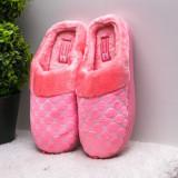 Papuci de casa dama roz Sonika-rl