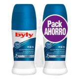 Deodorant Roll-On For Men Byly (2 uds)
