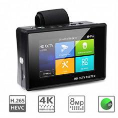 "IPC1800 plus 4"" IP Camera Tester monitor CCTV TVI CVBS Analog Video, Exterior, Cu fir, Color"