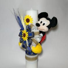 Lumanare pentru botez, 35X7 cm Disney - Mickey Mouse