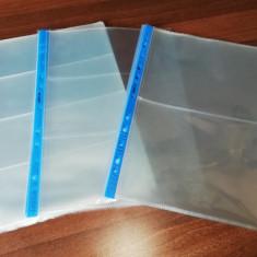 FOLII transparente clare pentru BANCNOTE cu 2, 3 sau 4 compartimente, 90 microni