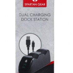 Dual Charging Dock Station SPARTAN PS4
