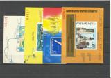 Romania MNH - lot colite nedantelate si serie martisor