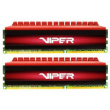 Memorie Patriot Viper 4 Red 8GB DDR4 3000 MHz CL16 Dual Channel Kit, DDR 4, 8 GB