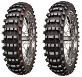 Motorcycle Tyres Mitas C-12 ( 120/90-18 TT 65M Roata spate, Mischung Soft Terrain, NHS, rot )
