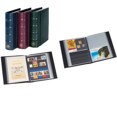 Album pentru 100 carti postale, coperta verde foto