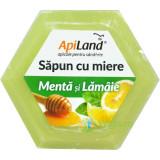 Sapun Natural Cu Miere, Menta Si Lamaie 100gr