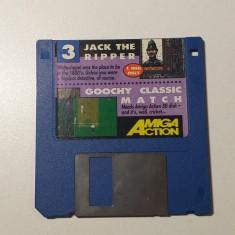 Joc AMIGA Jack the ripper + Goochy Classic Match - DEMO - G