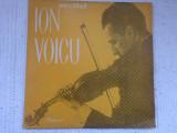 ion voicu recital vioara disc vinyl lp muzica clasica baroc electrecord ECE 086