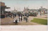 Olanda Haga Scheveningen - animata, tramvai electric, tramvaie, necirculata, Fotografie
