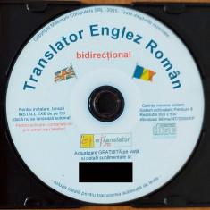 Translator ENGLEZ-ROMÂN bidirecţional + Curs de limba ENGLEZĂ (11 CD-Audio)