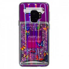 Husa Silicon Fashion Samsung Galaxy S9 Liquid Parfum