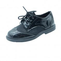 Pantofi eleganti fetite MRS R128N, Negru