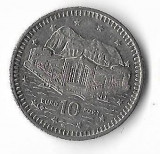 Moneda 10 pence 2002 - Gibraltar