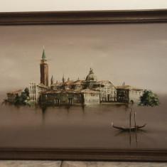 Tablou vechi,pictura ulei pe panza,Venetia