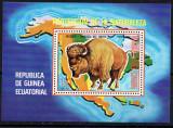 GUINEEA ECUATORIALA 1977, Fauna, Bizon, MNH, Nestampilat