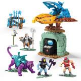 Masters of the Universe Mega Construx Probuilders Construction Set Panthor at Point Dread, Mattel
