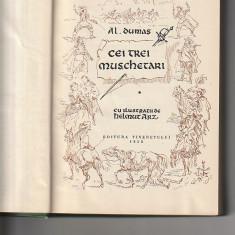 AL. DUMAS - CEI TREI MUSCHETARI ( 2 VOL )