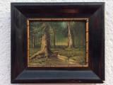 Cumpara ieftin Tablou original antic, Peisaje, Ulei, Impresionism