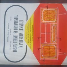 Desen Tehnic si Ornamental in Industria Lemnului. ST. VRINCEANU. 1999