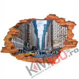 "Sticker ""Wall Crack"" Newyork 1 - 120 x 80 cm"
