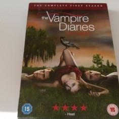 The vampire diaries -season 1, DVD, Engleza