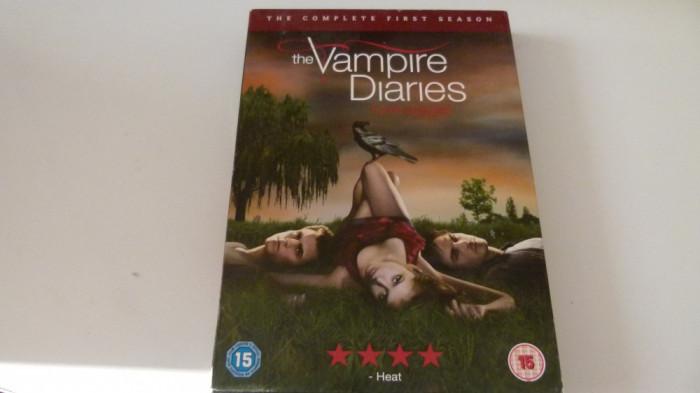 the vampire diaries -season 1