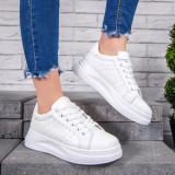 Pantofi sport dama albi Ciena