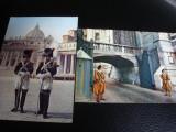 Carte postala -  set 2 CP - Citta del Vaticano -garda elvetiana si jandarmi -nec