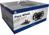 Volan cu pedale Venom Gaming Pace Racing Wheel - PS4