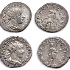 Imperiul Roman Lot 2 Antoniniani Argint Gordianus