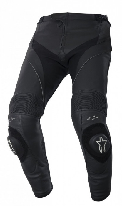 Pantaloni moto piele Alpinestars Missile culoare negru marime 56 Cod Produs: MX_NEW 31205141056AU