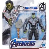 Figurina Avengers Team Suit Hulk Deluxe Figure 15 cm, Hasbro