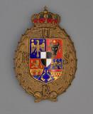 Insigna regalista UFSR (1933-40) , clasa 3, Dacomed, inseriata