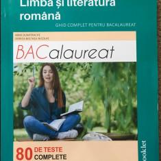carte de teste pentru bacalaureatul la limba romana