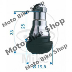 MBS Valva cauciuc TR412, cromat max 4,5 bar, Cod Produs: 5192778MA
