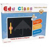 Tablita de desen cu magneti Edu Class, 380 piese, 3 ani+