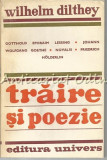Cumpara ieftin Traire Si Poezie - Wilhelm Dilthey - Tiraj: 4115 Exemplare