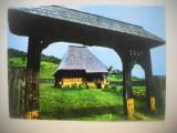 HOPCT 76209 CASA TARANEASCA COMPLEXUL ETNOGRAFIC BUJORENI-JUD VALCEA-NECIRCULATA