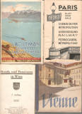 Cumpara ieftin Paris Wienne  Geneva 1935