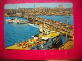 HOPCT 67591  PODUL GALATA -VAPOR-AUTOMOBIL--ISTANBUL TURCIA-NECIRCULATA