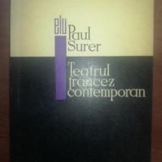 Teatrul francez contemporan- Paul Surer
