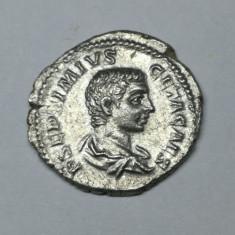 Impreiu Roman -  Denarius, Geta ( Caesar, AD 198-209)