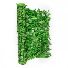 Blumfeldt Fency Ivy, frunze iedera de culoare verde deschis- gard de protecție împotriva vântului 300 x 100 cm