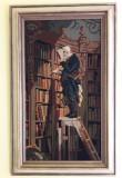 """""""Bibliotecarul"""" - goblen vechi, de mari dimensiuni"""