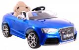 Masinuta electrica Audi RS5 Miekkie, albastru metalizat