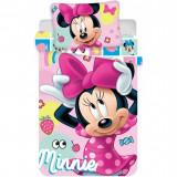 Set lenjerie pat copii Minnie 100x135 + 40x60 Disney JFK019429 B3406488