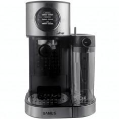 Espressor semi-automat Samus Intense 1470W 1200 ml 15 bari Negru